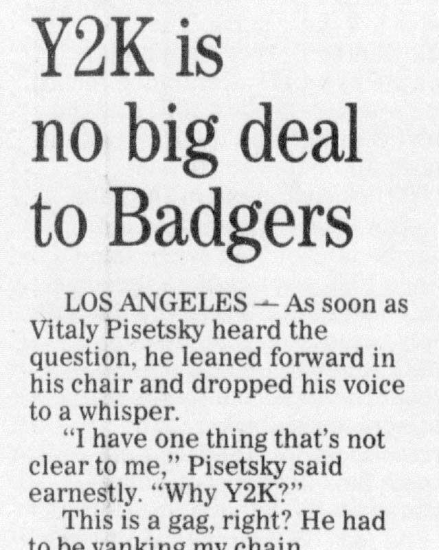 Y2K+is+no+big+deal+to+Badgers