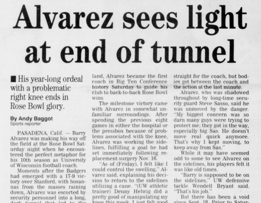 Alvarez sees light at end of tunnel