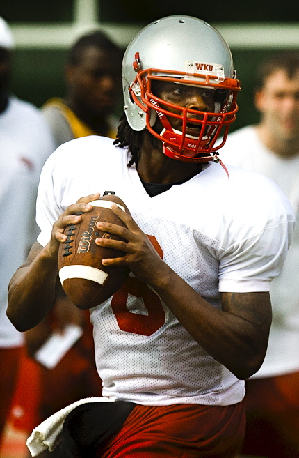 Sophomore Kawaun Jakes will earn the nod as starting quarterback when Western travels to Nebraska Sept. 4. Jakes came into fall camp as the Toppers' No. 2 option behind junior college transfer Matt Pelesasa but earned the job this past week with Pelesasa nursing a sore throwing arm.