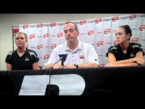 Volleyball team searching for normalcy after incident
