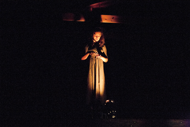 Ann-Rickman Bell portrays a haunted vision in