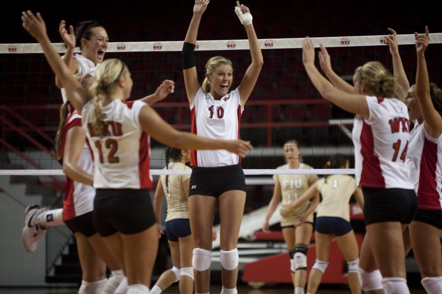 WKU remained perfect in Sun Belt Conference play on Saturday with a 3-0 win over defending conference champ Florida International. The Lady Toppers next travel to Middle Tennessee on Wednesday, a match that pits the Sun Belt's only two remaining undefeated teams.