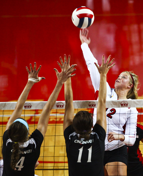 WKU volleyball coach Travis Hudson has tabbed it the