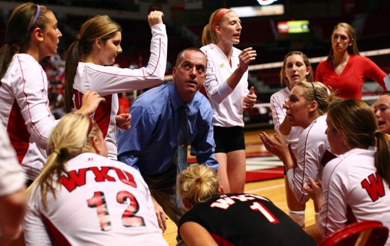 WKU+volleyball+coach+Travis+Hudson+only+has+five+upperclassmen%0Aon+his+roster%2C+but+he+said+this+years+team+is+anything+but%0Ainexperienced.%0A