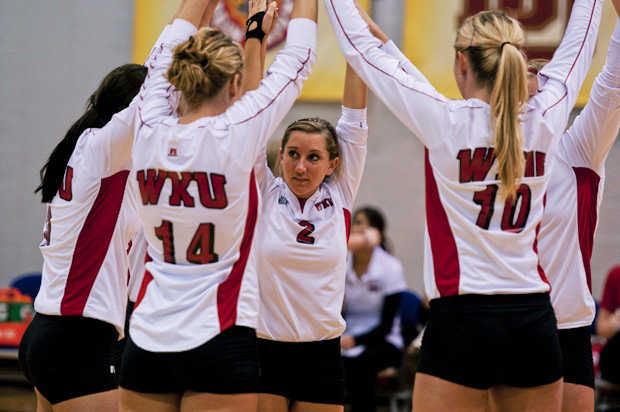 Follow along with the Herald's coverage of WKU's second-round Sun Belt tournament matchup with Florida International. Beat writer Emily Patton is in Murfreesboro for the match, which begins at 5 p.m. CT.