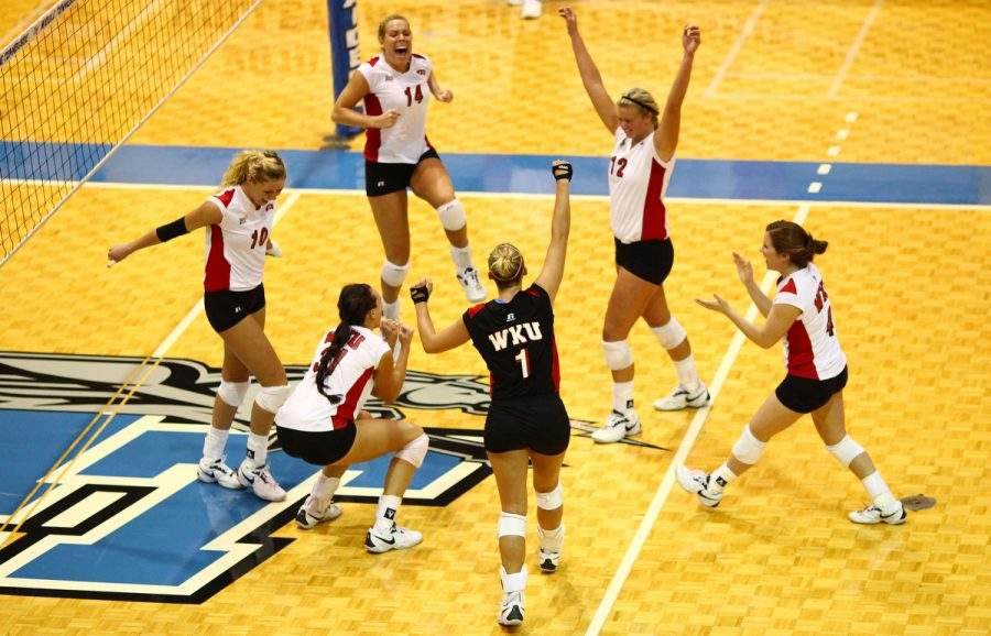 The Lady Toppers shut out Florida International 3-0 during the semi-final round of the 2010 Sun Belt Conference Volleyball Championship in Murfreesboro, Tenn. Friday evening, November 19, 2010.