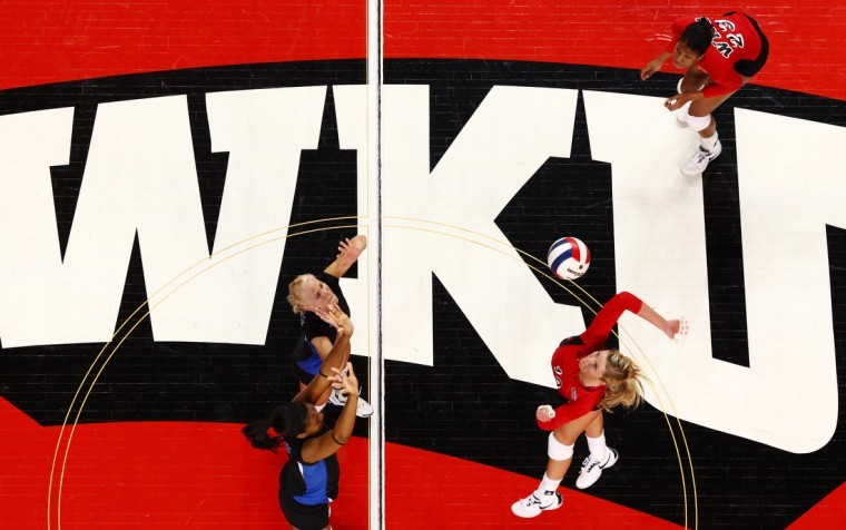 The+WKU+volleyball+team+kicks+off+the+Sun+Belt+Conference+Tournament+against+Louisiana-Lafayette+at+noon+today.+Follow+along+with+the+Herald%27s+coverage+live+from+Alumni+Memorial+Gym+on+Middle+Tennessee%27s+campus.