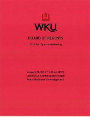 Three new academic programs on Friday's Board of Regents agenda