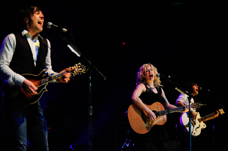 The Band Perry played a concert at WKU benefitting Global Volunteer Network's