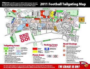 Three new grass lots open for football tailgating