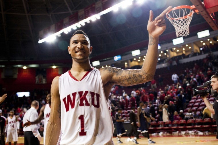Former+Topper+Sergio+Kerusch+smiles+to+his+fans+in+the+student%0Asection+right+after+the+final+buzzer+of+WKU%27s+Senior+Night+matchup%0Aagainst+Florida+International+earlier+this+season.+Kerusch+signed+a%0Athree-year+contract+Monday+with+Aris+Basketball+Club+of+Greece.%0A