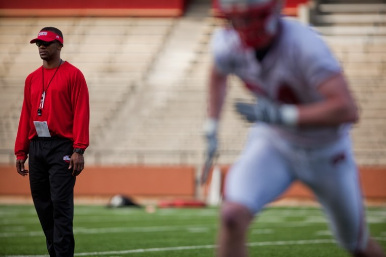 Head+Coach+Willie+Taggart+will+be+finalizing+his+depth+chart%0Asoon+with+WKU%27s+season-opener+against+Kentucky+just+a+little+more%0Athan+a+week+away.+He+said+Wedneday%27s+scrimmage+would+play+a+big%0Arole+in+solidifying+it.%0A