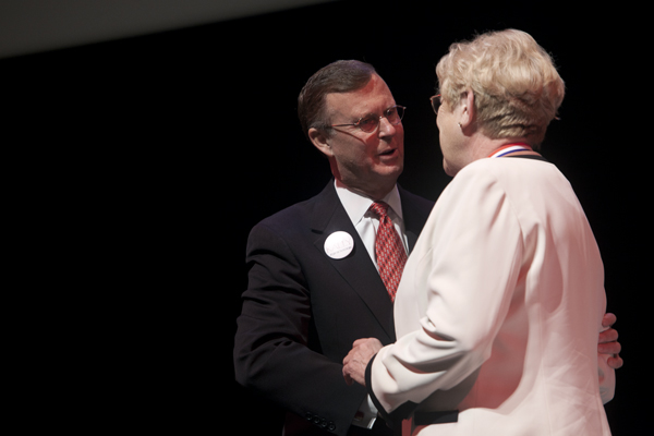 President Gary Ransdell has a message for WKU's freshmen: be responsible.