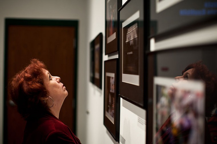 A gallery and multimedia presentation opened Thursday evening at Mass Media and Technology Hall documenting the days following 9/11. The majority of photos on display were taken by WKU students and faculty.