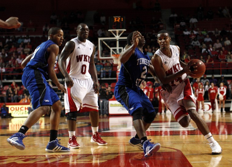 Jamal+Crook+finished+with+a+team-high+13+points+and+hit+his%0Afirst+three-pointer+Monday+to+push+WKU+past+Tennessee+State%2C%0A52-49.%0A