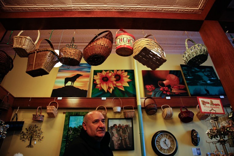 """After retiring from the military, Jeff Meo, the owner of Meo's Collection, came across Bowling Green while kayaking down the Green River. He decided it was the place for him to retire. Meo now ownsand runs his own store in the square. """"I like to travel, and I like to collect, and I like people,"""" Meo said. """"I started this store as a chance to meet people and have fun."""""""