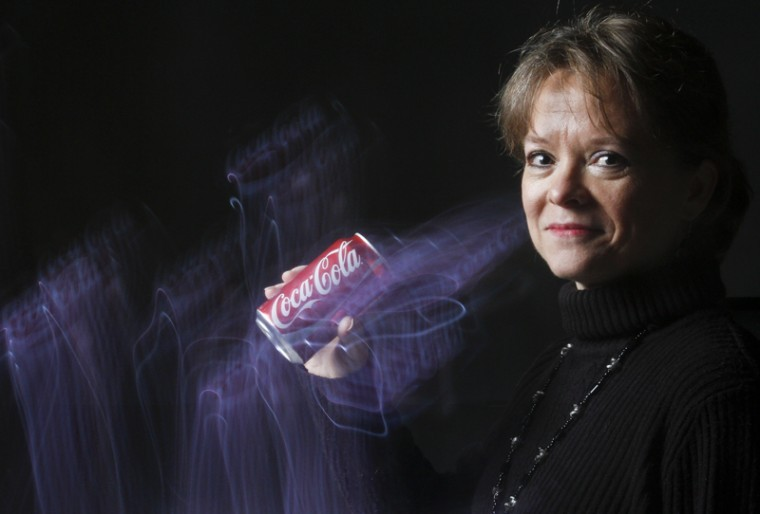 """Betsy Pierce, an outreach coordinator for 11 years at WKU, is a Coke enthusiast. """"It's what I grew up on,"""" Pierce said. """"Things go better with Coke."""""""