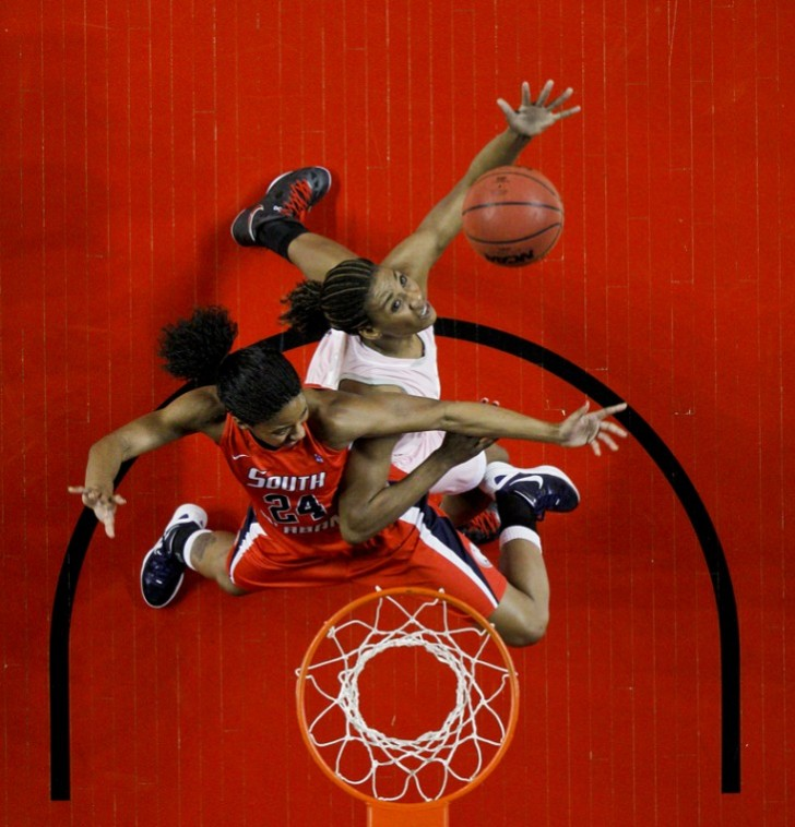 Senior+forward+LaTeira+Owens+tries+to+take+a+rebound+from+South%0AAlabama+on+Feb.+4+in+Diddle+Arena.+WKU+lost+56-52.%0A