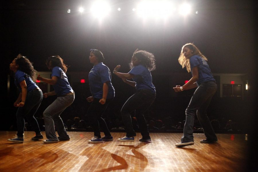 Zeta+Phi+Beta+was+the+opening+act+at+the+Zeta+Non-Greek+Stroll+Off+at+Downing+University+Center+Saturday+evening.+The+event+raised+money+for+Zeta.+Teams+performed+a+mixture+of+step+and+hip+hop+dance+moves.+Dope+Pack+took+the+prize+money+as+the+winners+of+the+event.%0A