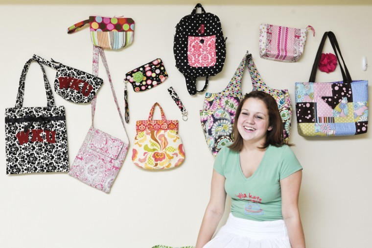 Senior Julia Weis, a child studies major, has been interested in creating her own apparel since she was 7. I remember I used to get my barbies and I wasnt happy with the clothes they had. So I made my own, Weis said.