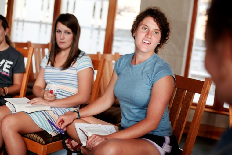 RUF+Intern+Caroline+Royal%2C+Macon%2C+Ga.%2C+leads+a+girls-only+Bible+study+on+Thursday+afternoon.+RUF+holds+a+Bible+study+for+both+men+and+women+on+Thursdays.%0A