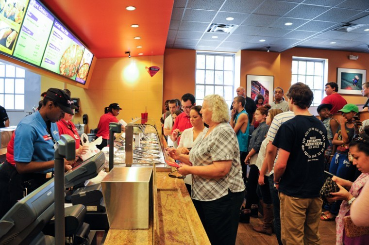 JEFF BROWN/HERALD WKU's Panda Express opened on campus over fall break. Monday was the grand opening.