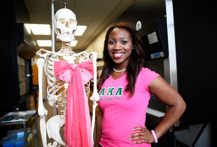 After her mother lost her battle with breast cancer, Cheryl Onwu made the decision to double major in biology and chemistry in the hopes of becoming an oncologist.