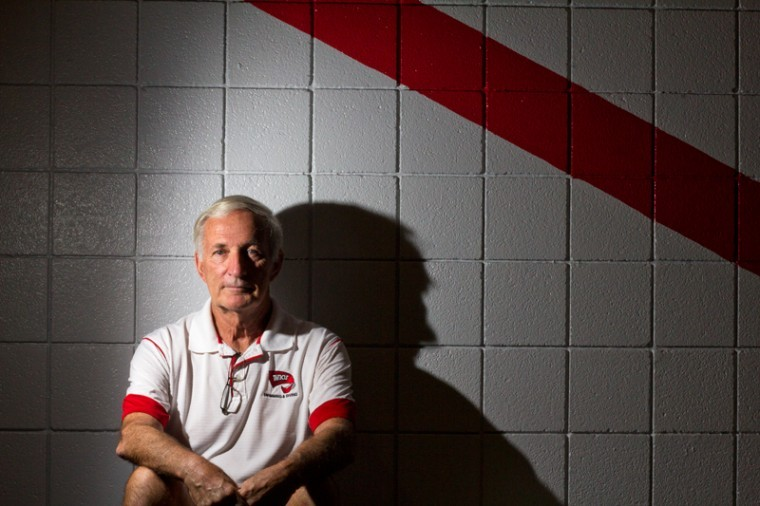 Retired+head+coach+Bill+Powell+has+worked+at+WKU+for+about+43+years.+Powell+still+teaches+swim+classes+at+WKU.%0A