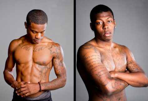 """You don't want to know the time it took to get these,"" said Elvyonn Bailey, left, a junior from Riverside, Calif. Bailey is on the WKU cross country team and has had tattoos for several years. ""I am not going to get any on my hands or neck, no sir,"" said Frankfort senior Rico Obannon (right). Obannon got his first tattoo on his 18th birthday and has continued ever since."