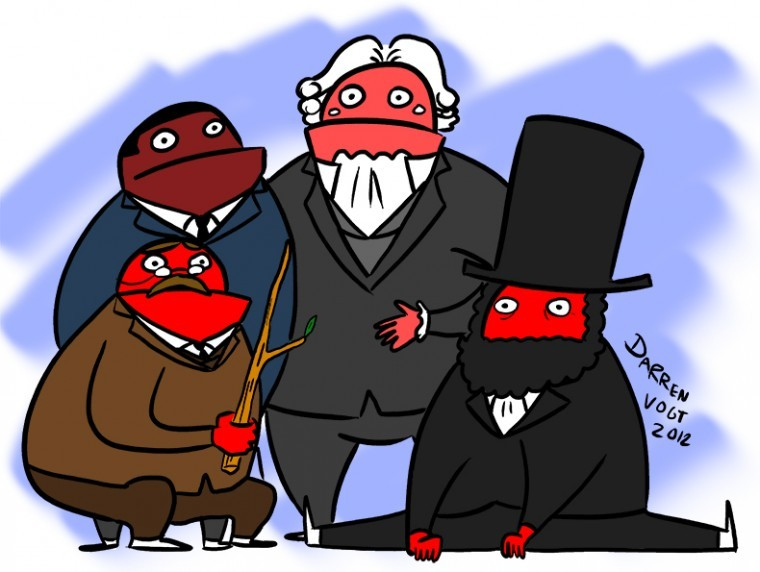 Friday, Nov. 2, Political Cartoon