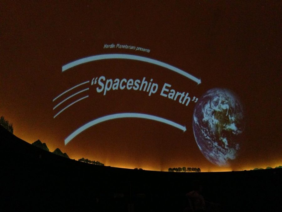Spaceship+Earth+runs+at+the+Hardin+Planetarium+through+Jun.+23+every+Sunday%2C+Tuesday%2C+and+Thursday.%C2%A0+Admission+is+free.%0A