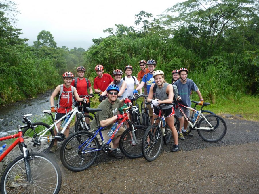 Students+mountain+biking+at+the+base+of+Arenal+Volcano+in+Costa+Rica.%0A