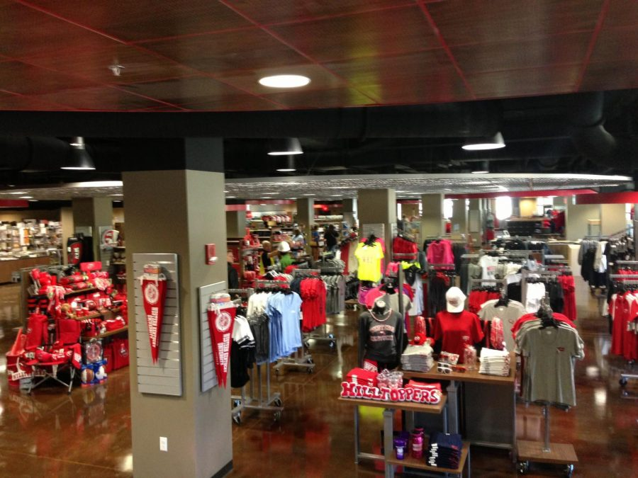 The+WKU+Store+opened+Wednesday%2C+Aug.+14+in+Downing+Student+Union.