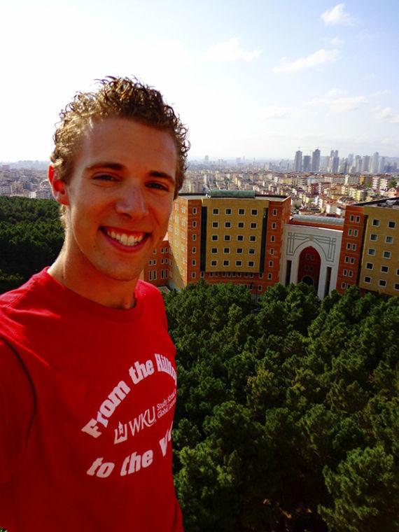 Recent+graduate+Nate+Hovee+in+Turkey.
