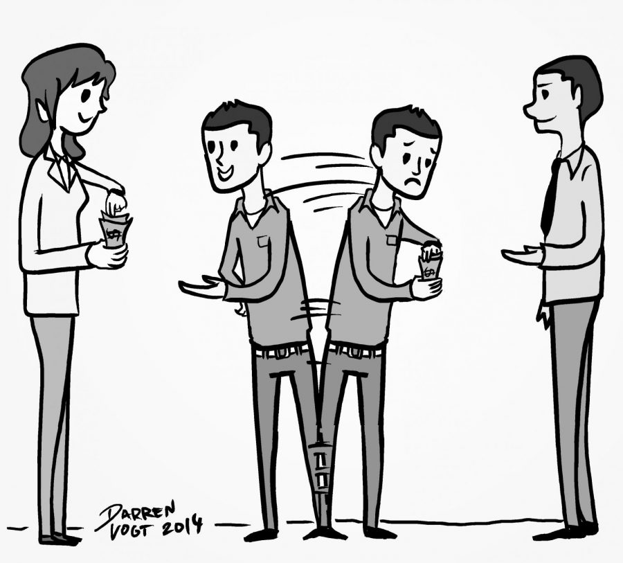 Editorial Cartoon for February 18, 2014.