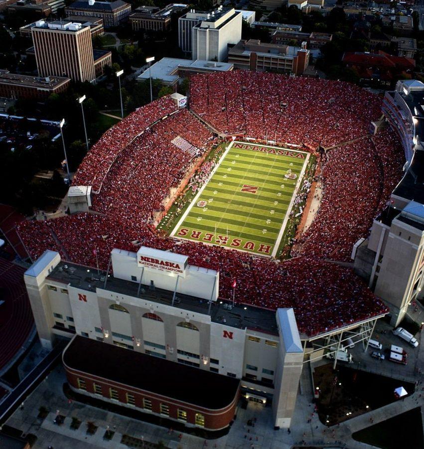 Nebraska celebrated its 300th consecutive sellout at Memorial Stadium at the Sept. 26, 2009, game against Louisiana-Lafayette. The streak began Nov. 3, 1962.