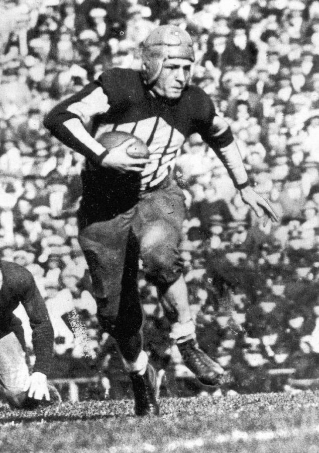 Three-time All-American Harold