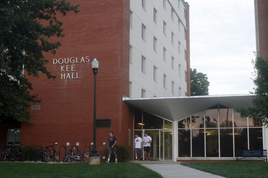 Douglas Keen Hall, formerly an all male residence hall, is now a coed residence hall due to an increased demand for female student housing. Jake Pope/HERALD