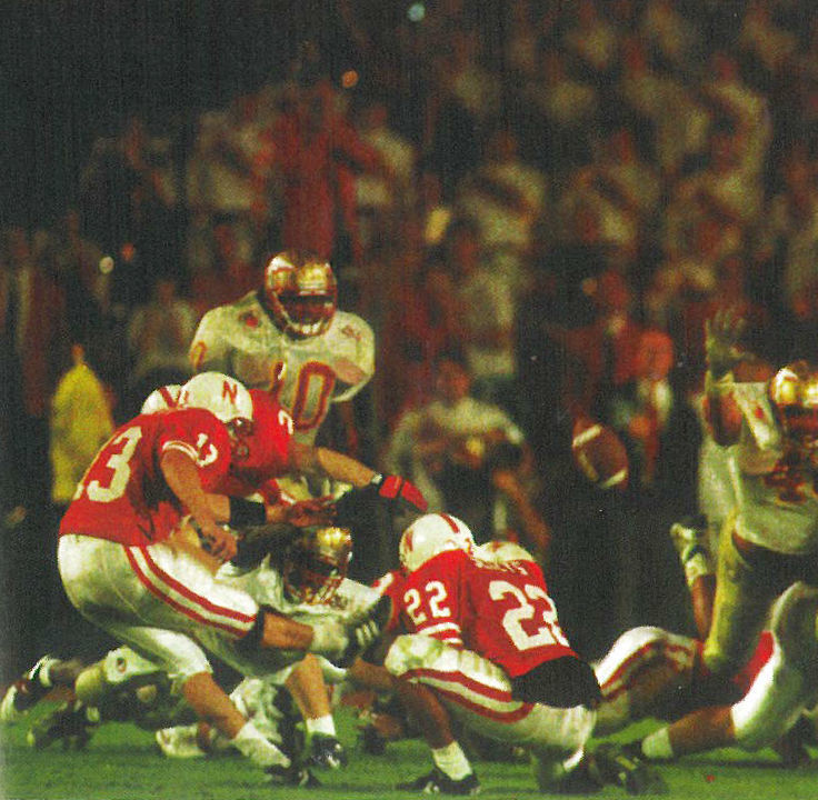 Byron+Bennett+missed+this+frantic%2C+last-second+field+goal+that+would+have+given+Nebraska+a+victory+against+Florida+State+in+the+1994+Orange+Bowl+and+the+national+championship.