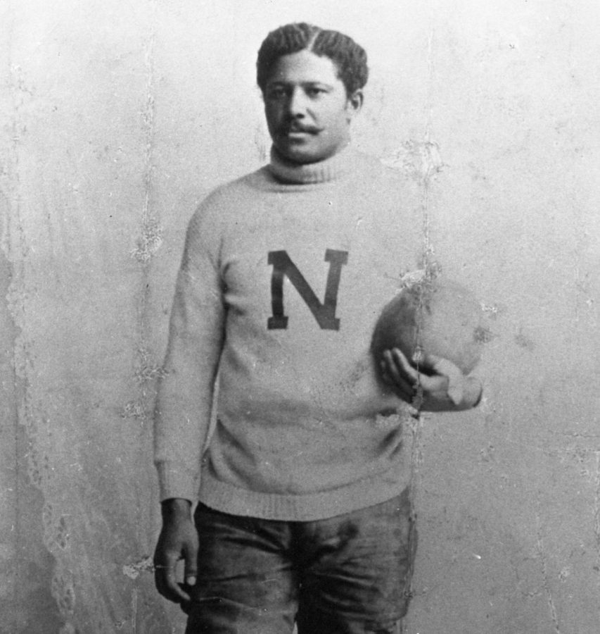 George Flippin attended Nebraska from 1891 to 1894. He was the first black football player for the university.