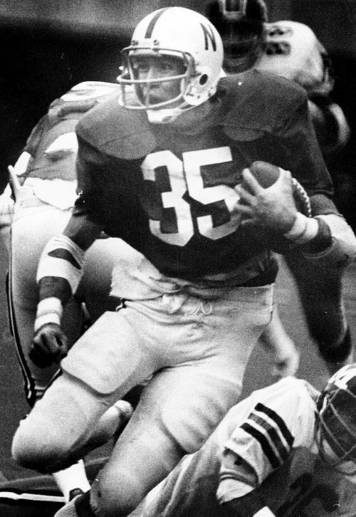 I-back Rick Berns broke the school single-game rushing record with 255 yards, including an 82-yard touchdown run on the game's opening play, against Missouri in 1978. But the Huskers lost 35-31.