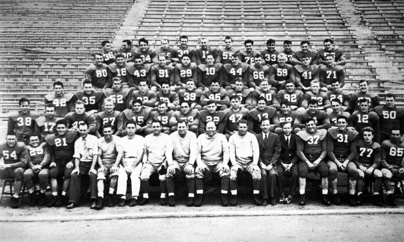 The 1940 team was the first Nebraska squad to play in a bowl game. The Huskers lost the 1941 Rose Bowl to Stanford.