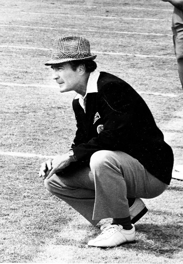 Former WKU quarterback, head coach and athletic director Jimmy Feix. Feix passed away at age 83 on Sunday afternoon, Oct. 5, 2014.