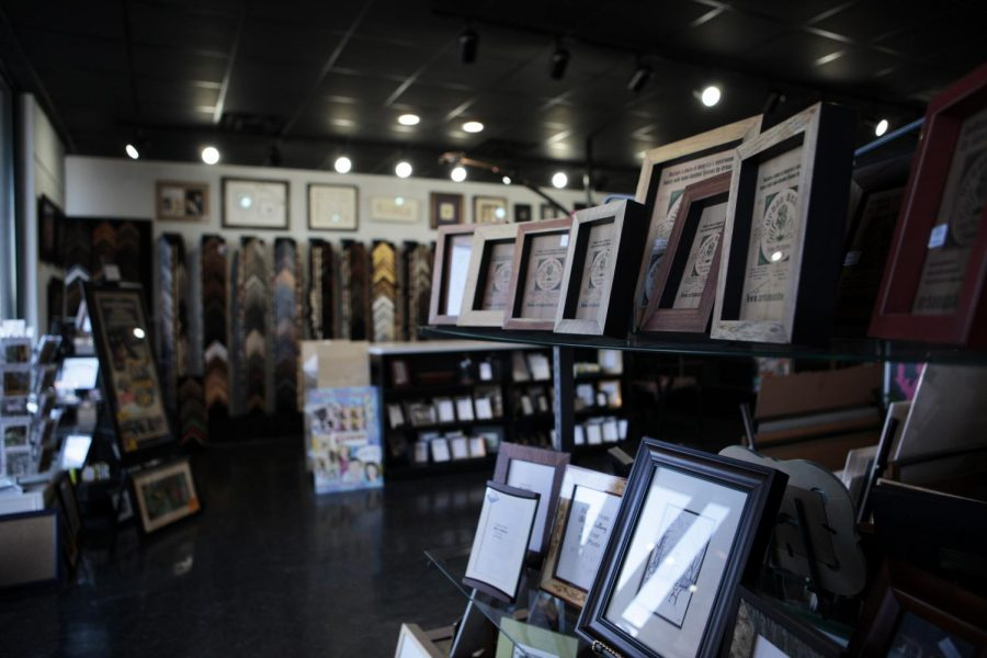 B&J Gallery at 955 Fields Dr. has a wide variety of artwork and picture framing services. Jake Pope/HERALD