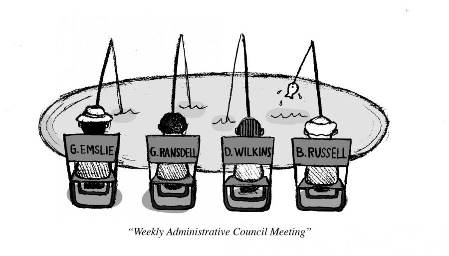 Weekly Administrative Council Meeting