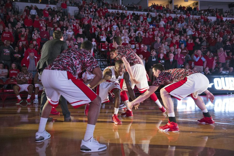 Senior guard, Trency Jackson, is introduced for the starting before The Hilltoppers took on Florida International University at E. A. Diddle Arena, Saturday Feb. 28, 2015. Jeff Brown/HERALD