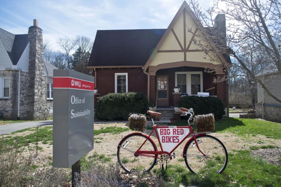 The Office of Sustainability is located at 503 Regents Ave. and assists students with a variety of ways of promoting a culture of sustainability including Big Red's Bike Share, a program offering refurbished bikes, free to rent, for students on campus. Harrison Hill/HERALD