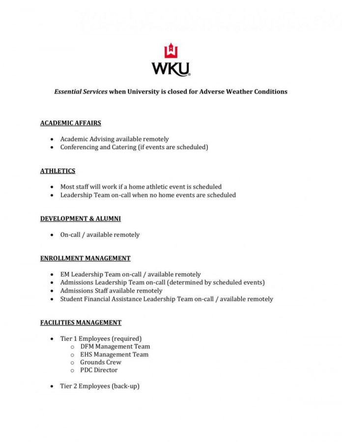 WKU+prepares+for+winter+weather