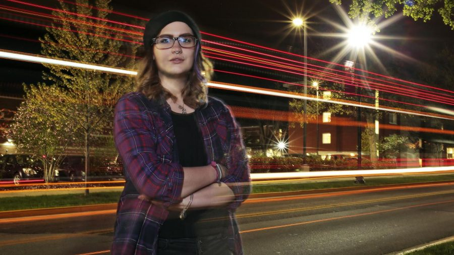 Somerset senior Lindsay Thomas is leading a local branch of a national movement to end street harassment as part of her Leadership Capstone. Pictured here in a composite photo illustration, Thomas says it is important to talk about cat-calling and other forms of harassment on the street, especially as weather warms up and more people are outdoors. I just want people to know about it, and know their rights. A lot of people dont know harassment is illegal; they just think they have to take it. But they dont.