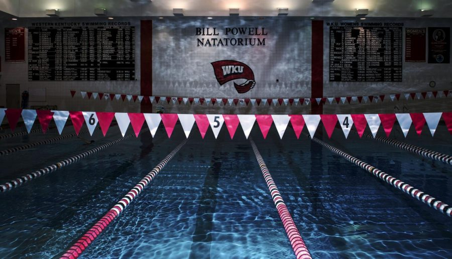 The Bill Powell Natatorium will no longer be called home by the more than 50 student athletes of WKUs Mens and Womens Swimming and Diving programs after President Gary Ransdell and Athletic Director Todd Stewart announced on Tuesday, April 14, 2015 that the programs will be suspended for the next five years effective immediately. This comes after a former swim team member, Collin Craig, filed complaints with the Bowling Green Police Department on January 6, 2015, sparking an investigation by both police and WKU Title IX coordinators. Nick Wagner/HERALD